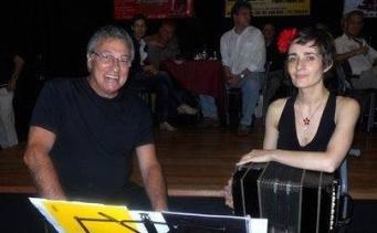 con Raúl Mereñuk en Sueño Porteño