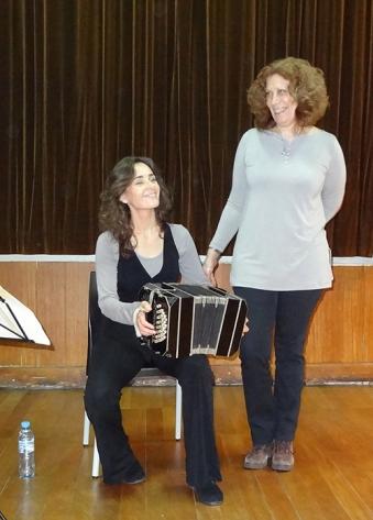 Borges y Bandoneón, con Alicia Ardile
