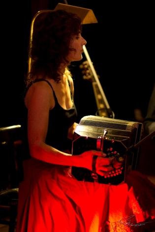 Erfurt, Konzert mit Trio el piropo im Café Nerly, 2016