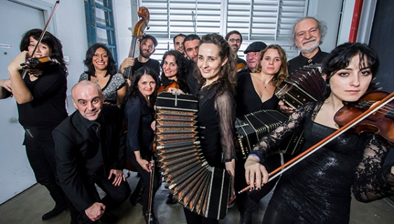 "Orquesta Escuela de Barcelona ""Latitud Tango"", 2014"